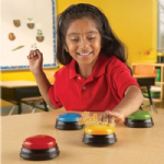 Learning Resources Lights & Sounds Answer Buzzers